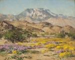 Desert Scene by Agnes Pelton