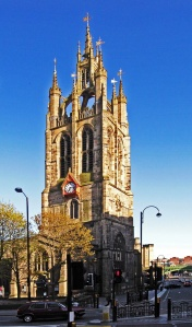 St. Nicholas in Newcastle; All Saints' Church was pulled down in 1786