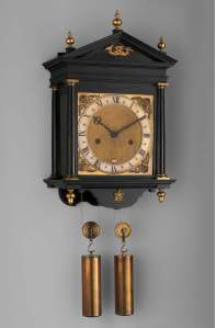 Abraham Fromanteel Clock, Collection of Metropolitan Museum of Art